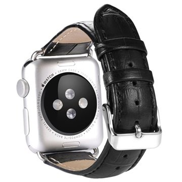 Apple Watch Benks Leather Wristband - 38mm - Black