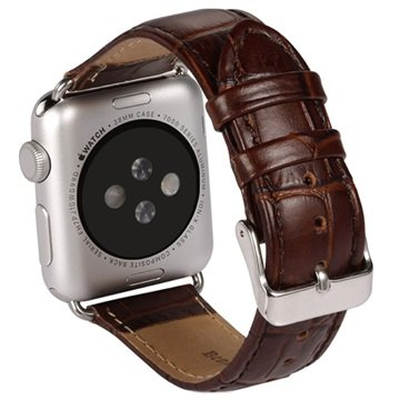 Apple Watch Benks Leather Wristband - 38mm - Brown