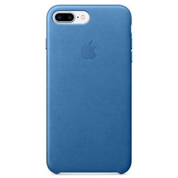 iPhone 7 Plus Apple Leather Case MMYH2ZM/A - Sea Blue