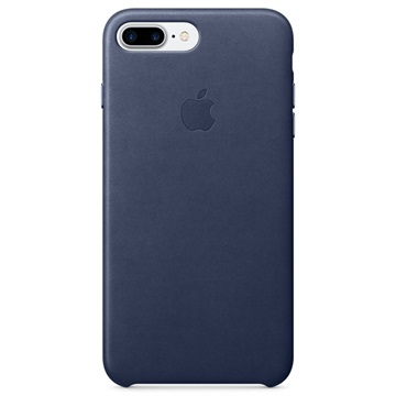 iPhone 7 Plus / iPhone 8 Plus Apple Leather Case MQHL2ZM/A - Midnight Blue