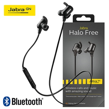Jabra Halo Free Bluetooth 4.1 Stereo Headset - Black