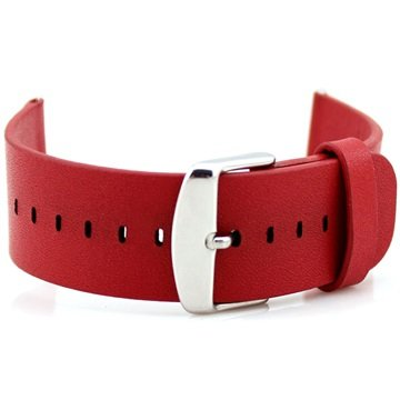 Apple Watch Leather Wristband - 38mm - Red