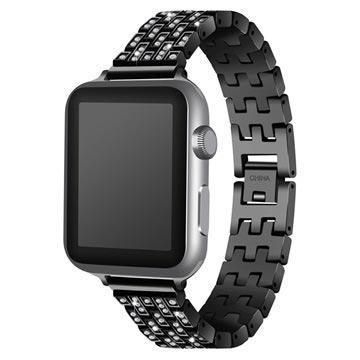 Apple Watch Luxury Stainless Steel Strap - 38mm - Black
