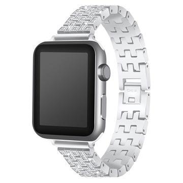 Apple Watch Luxury Stainless Steel Strap - 38mm - Silver