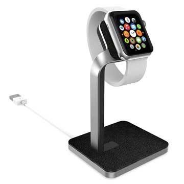 Apple Watch Mophie Watch Dock - Silver / Black