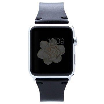 Apple Watch SLG Design D7 Buttero Wristband - 38mm - Black