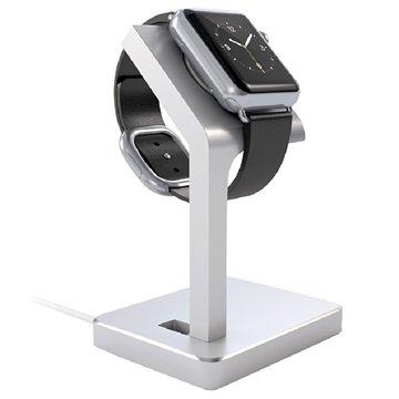 Apple Watch Satechi Aluminum Charging Stand - Silver