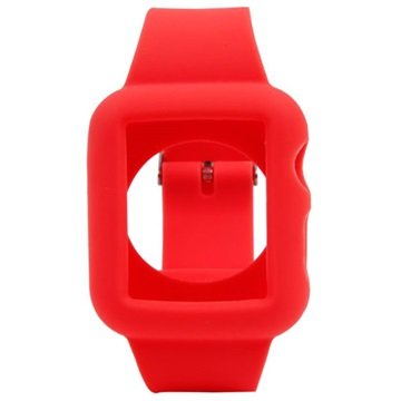 Apple Watch Silicone Case - 38mm - Red