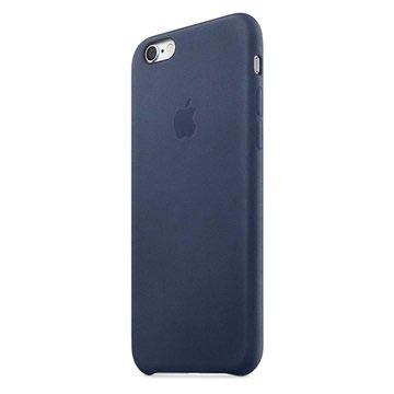 iPhone 6 / 6S Apple Leather Case MKXU2ZM/A - Midnight Blue