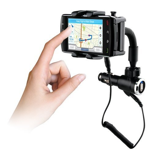 Naztech N4000 Phone Mount & Charger.