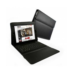 Tuff-Luv Leather iPad 2 case and Integrated Bluetooth Keyboard