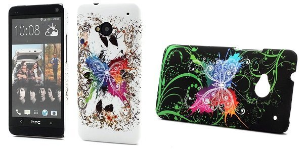 HTC One Cover - Butterflies
