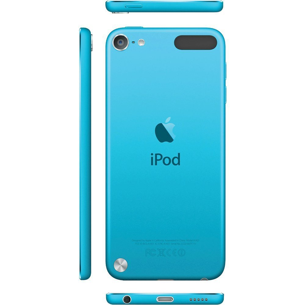 Blue iPod touch 5g