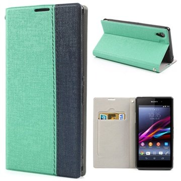 Flip Leather Case for Sony Xperia Z1