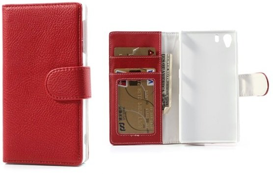 Xperia Z1 Wallet Leather Case