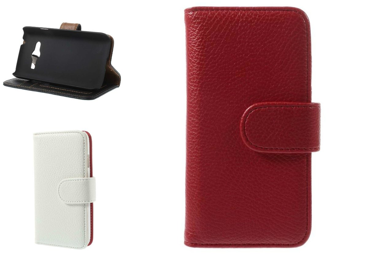 Galaxy Ace 4 Wallet Leather Case
