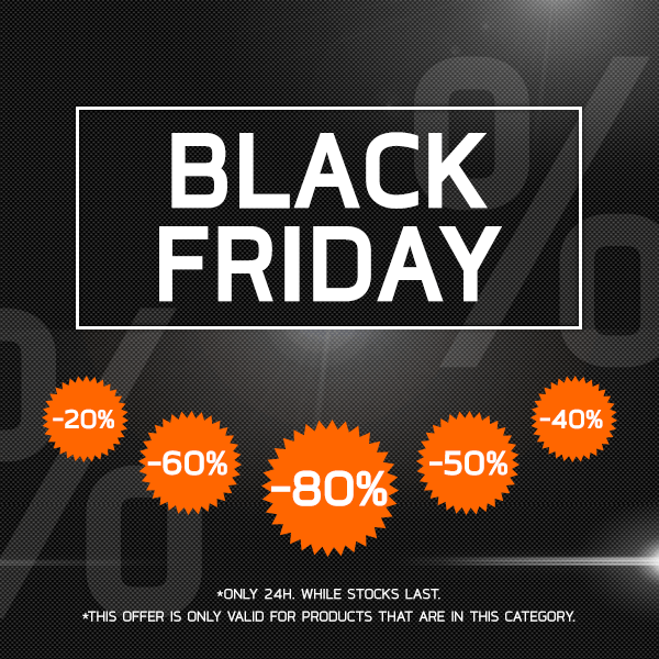 Save up to 80% on Black Friday