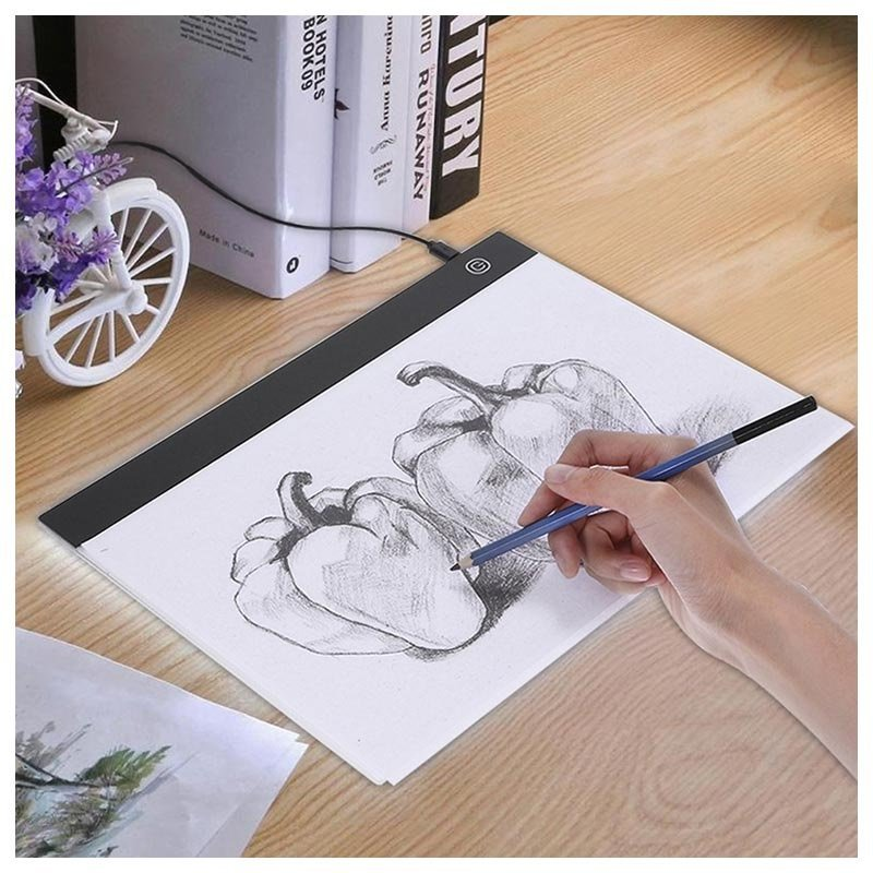 LED-Lit Acrylic Drawing Board