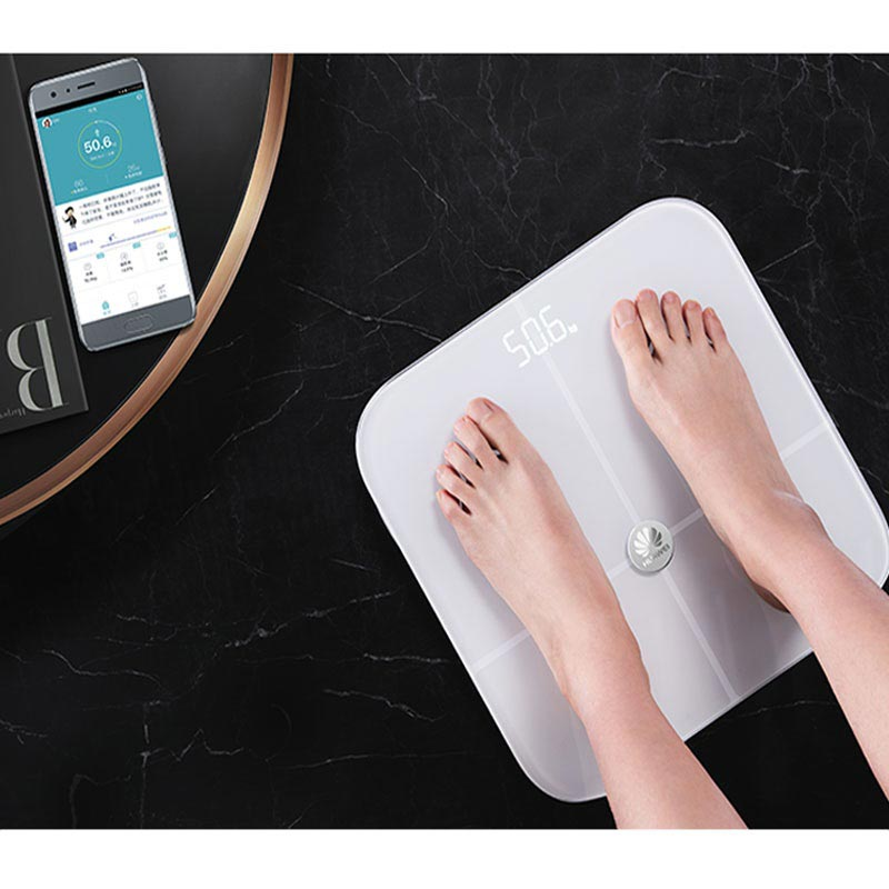Smart body fat scale from Huawei