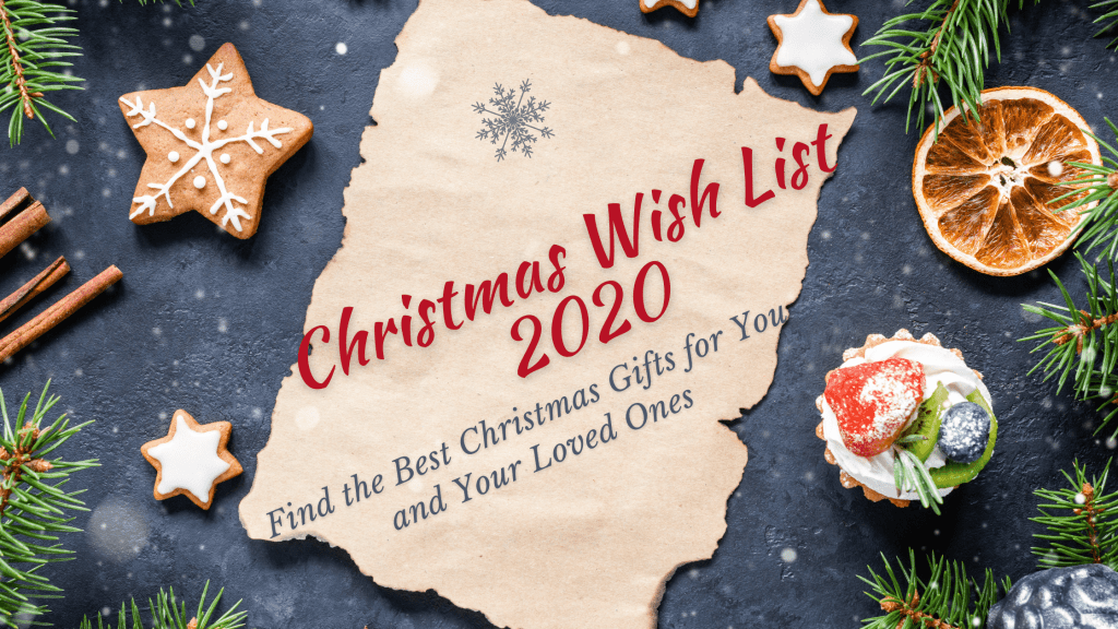 Christmas wish list 2020