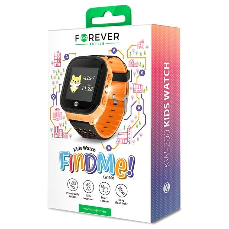 Forever Find Me KW-200 smart watch