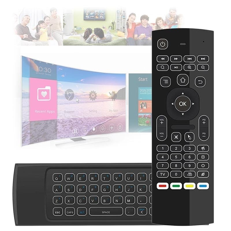 Wireless Air mouse with remote control