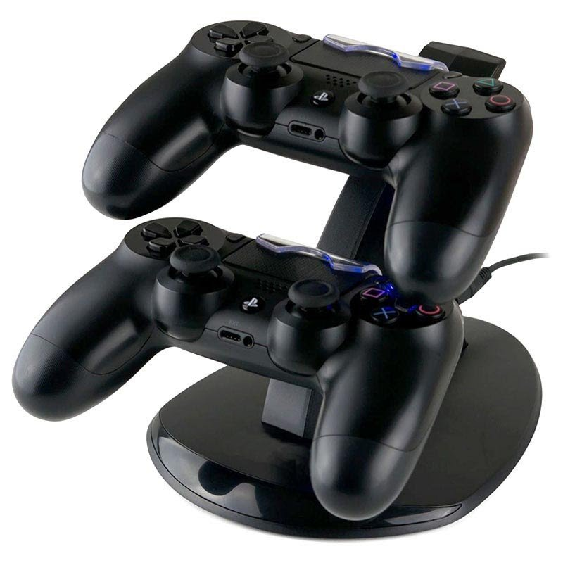 Double charger for PlayStation 4 controller