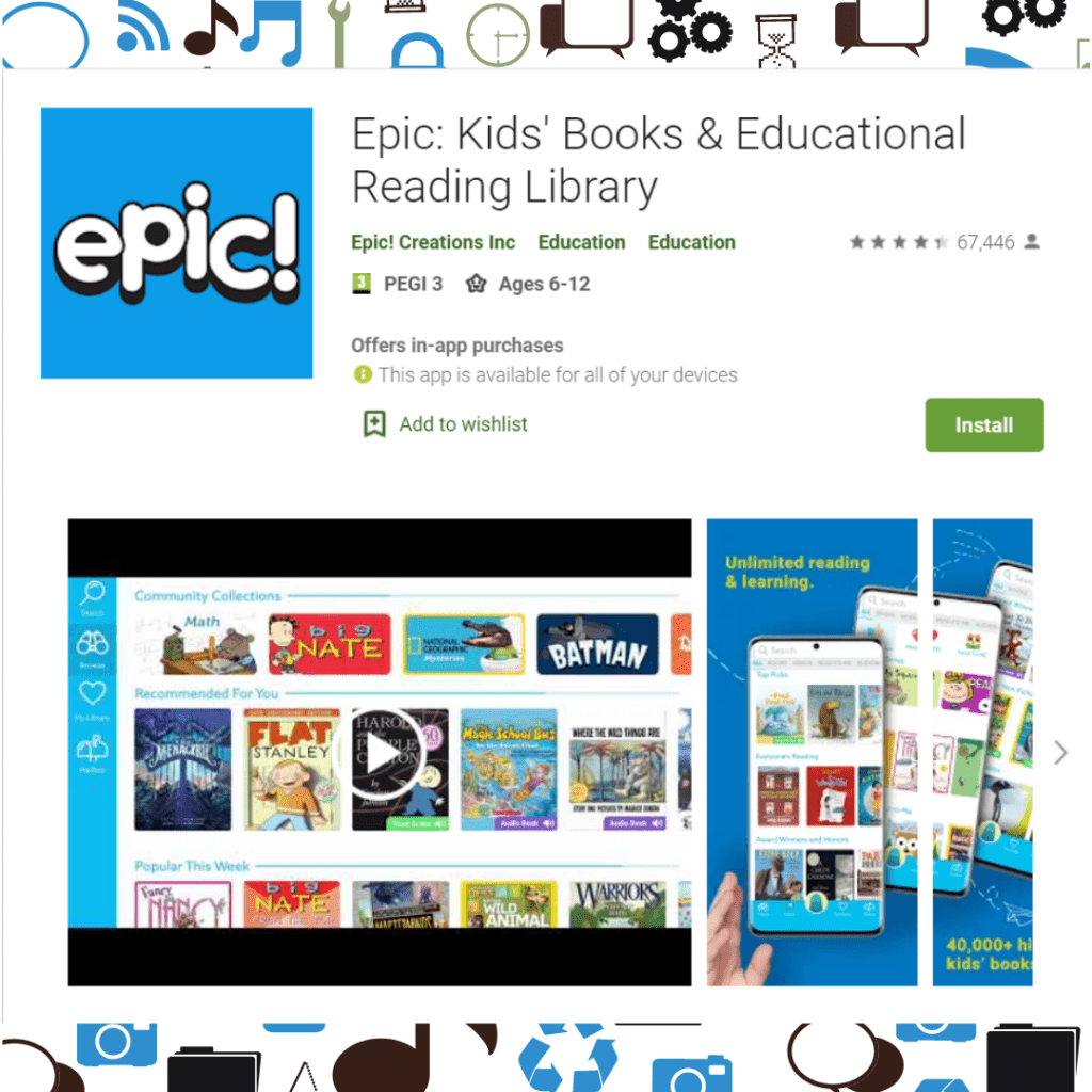 Epic Virtual Library