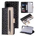 Lace Pattern Huawei P40 Lite Wallet Case
