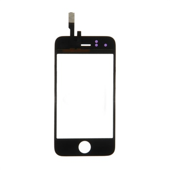 iPhone 3GS Display Glass - Black