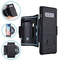 2-in-1 Detachable Samsung Galaxy S10 Sports Armband - Black
