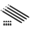 2-in-1 Universal Capacitive Stylus Pen - 4 Pcs.