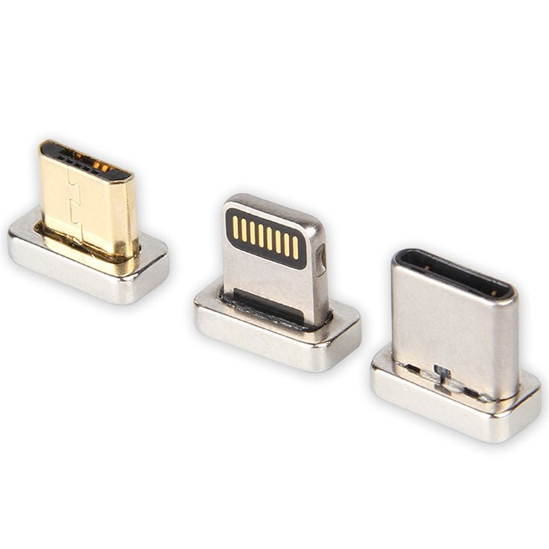 3-in-1 Magnetic Cable - Lightning, MicroUSB, Type-C