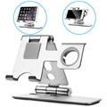 3-in-1 Universal Desktop Stand - Smartphone, Tablet, Apple Watch