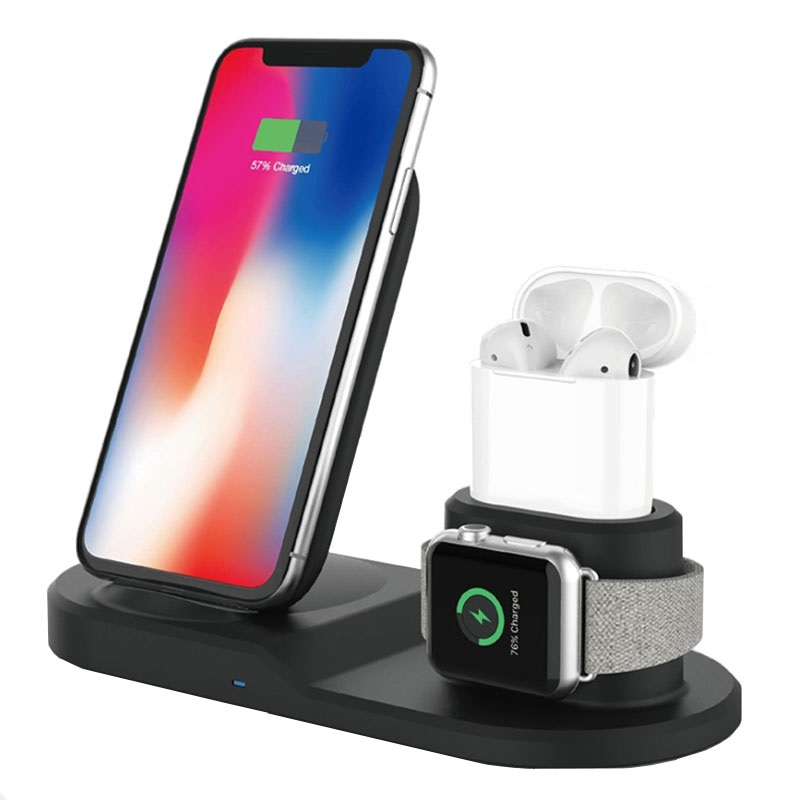 3-in-1 Fast Wireless Charging Station W45