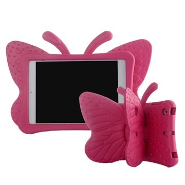iPad Mini 2, iPad Mini 3 3D Shockproof Kids Case - Butterfly
