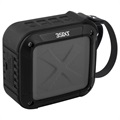 3Sixt SoundBlock 3S-0952 Water Resistant Bluetooth Speaker - Black