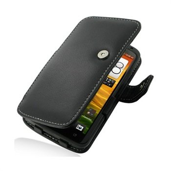 HTC One X, One X+ PDair Leather Case 3BHTNXB41 - Black