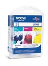 Brother DCP-145 C Inkjet Cartridge LC980RBWBPDR 3 Pack - Cyan, Magenta, Yellow