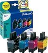 Brother DCP-110 C Inkjet Cartridge Pelikan P07 Multipack - Black, Cyan, Magenta, Yellow