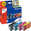 Canon Pixma IP 3000 Inkjet Cartridge Pelikan P02 - Black, Cyan, Magenta, Yellow