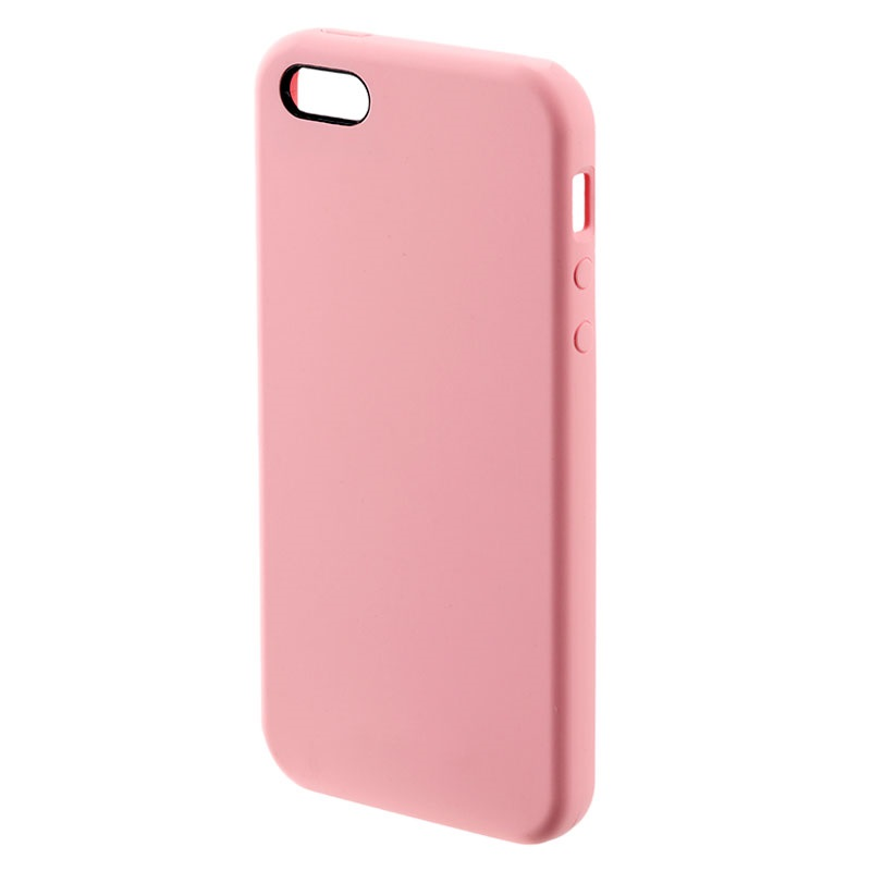 iphone 5 5s se 4smarts cupertino silicone case pink. Black Bedroom Furniture Sets. Home Design Ideas