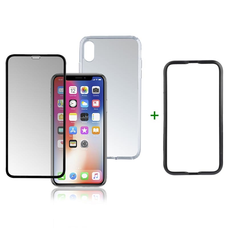 iPhone XR 4smarts 360 Premium Protection Set - Easy-Assist