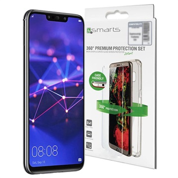 Huawei Mate 20 Lite 4smarts 360 Protection Set - Clear