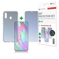 Samsung Galaxy A40 4smarts 360 Protection Set - Clear