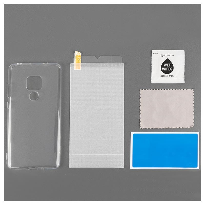 Samsung Galaxy A50 4smarts 360 Protection Set - Clear