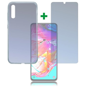Samsung Galaxy A70 4smarts 360 Protection Set - Clear