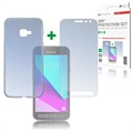 Samsung Galaxy Xcover 4 4smarts 360 Protection Set - Clear