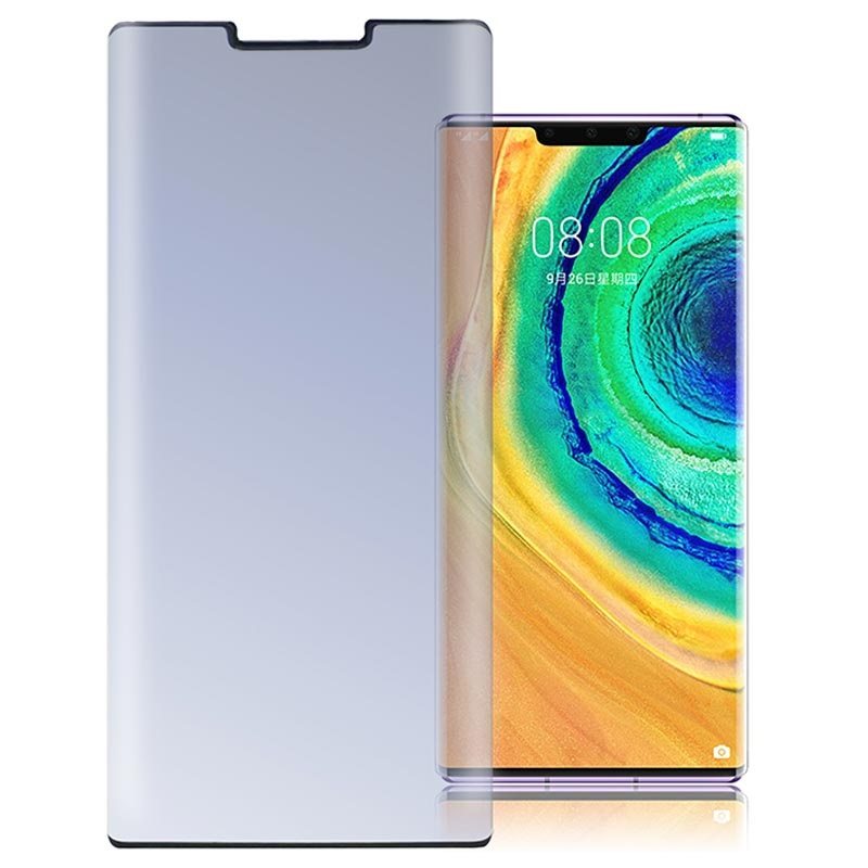 4smarts Colour Frame Glass Huawei Mate 30 Pro Screen Protector - Black