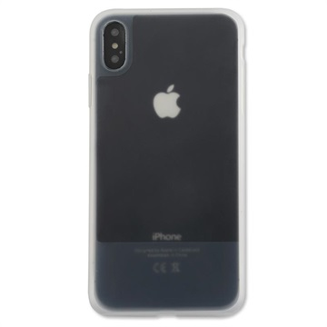4smarts Cupertino Ice iPhone X / iPhone XS Silicone Case - White